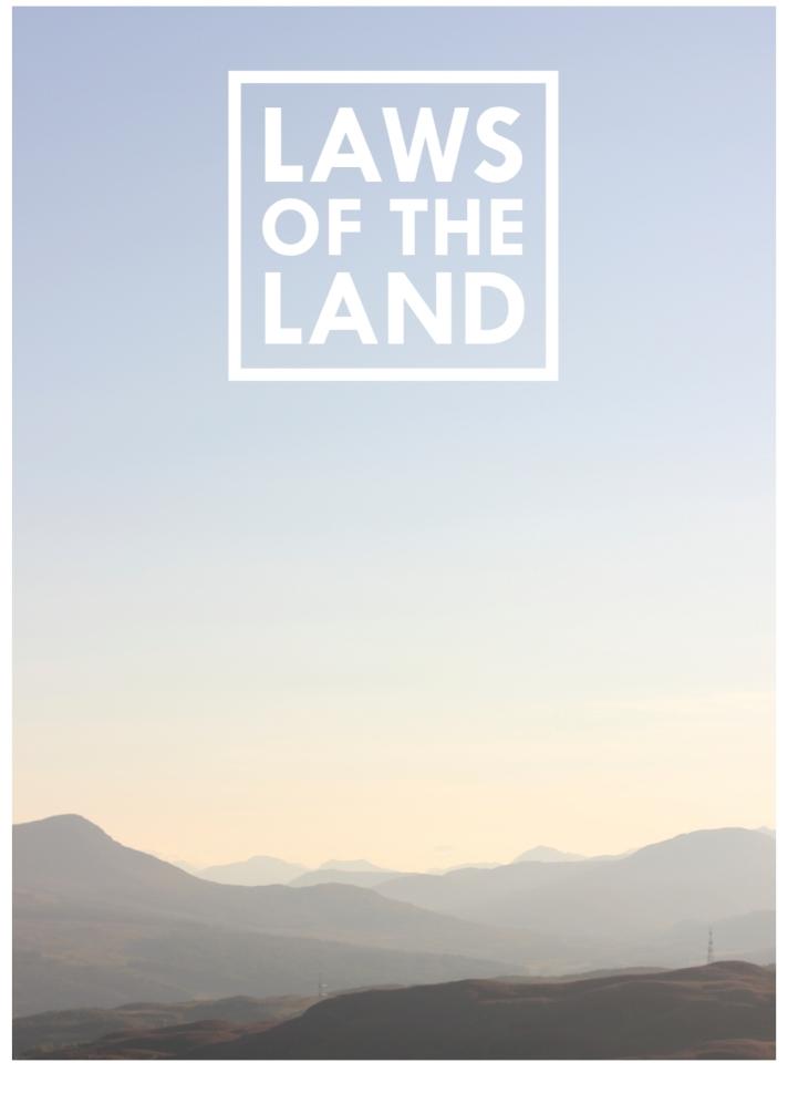 #LawsOfTheLand Campaign Manifesto Page 1