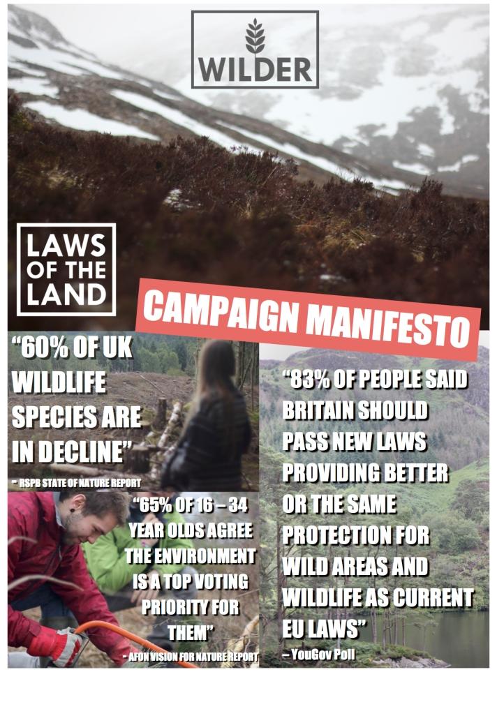 #LawsOfTheLand Campaign Manifesto Page 2