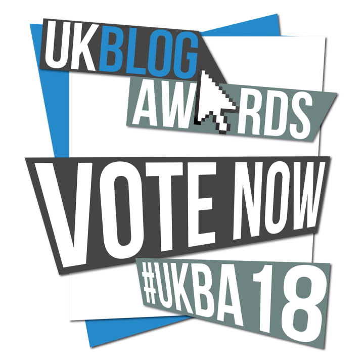 UK Blog Awards 2018: I Need Your Help!