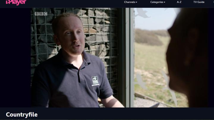 A cheeky appearance on BBCCountryfile