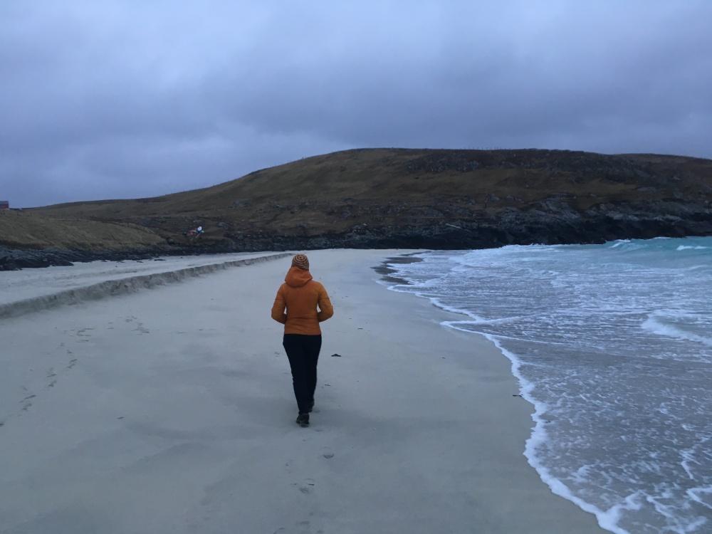 Beach photo_walking_Karen MacKelvie